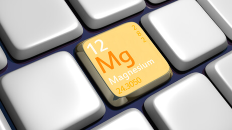 Keyboard (detail) with Magnesium element - 3d made